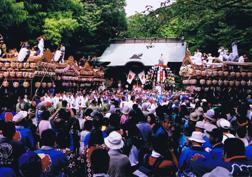 宗我神社 秋の祭礼