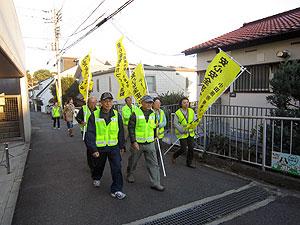 芦子地区 パトロール