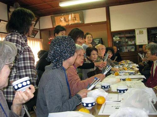 富水地区 高齢者お茶会